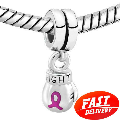 pandora breast cancer charms