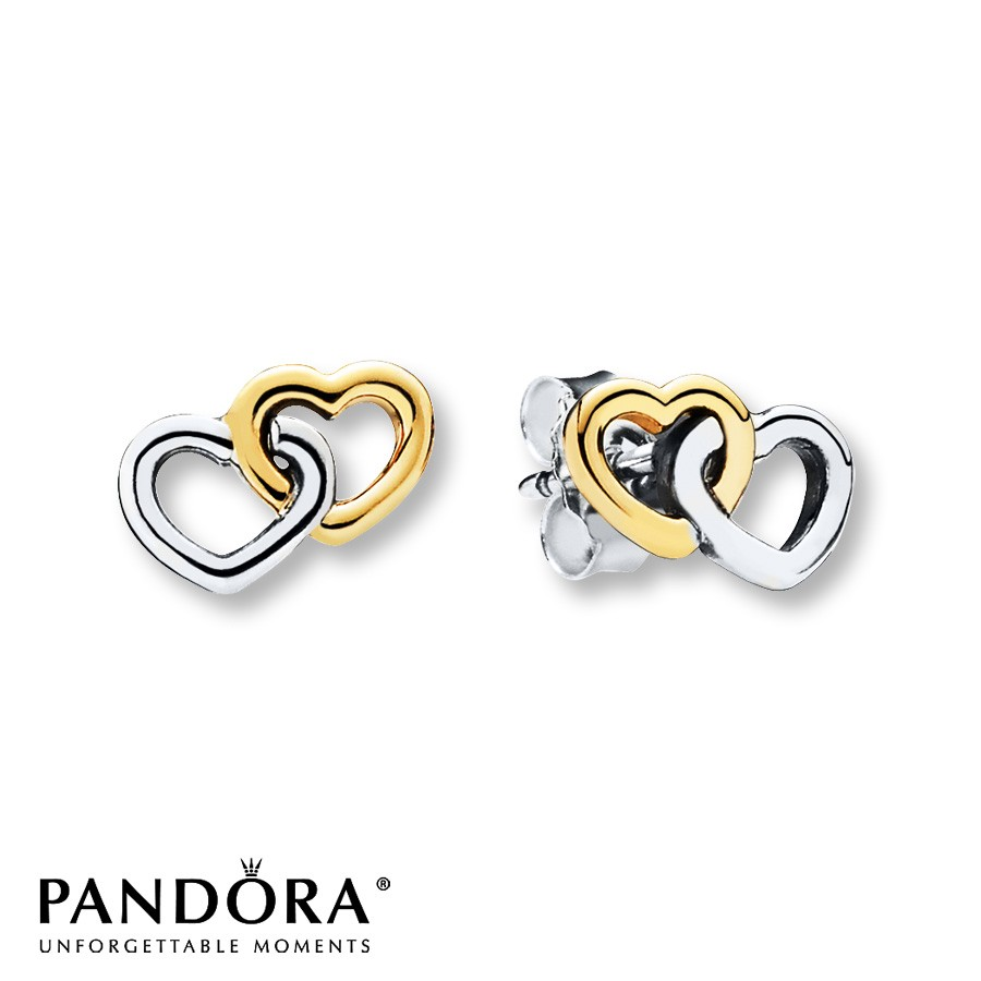 pandora heart earrings