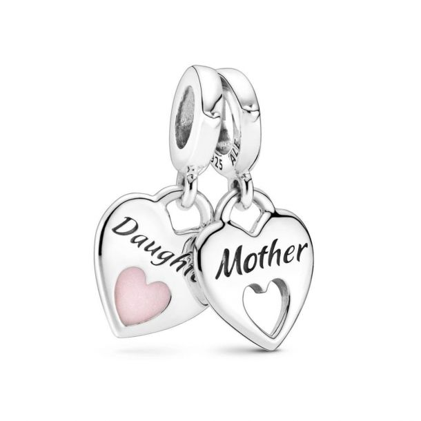 pandora mother daughter charm