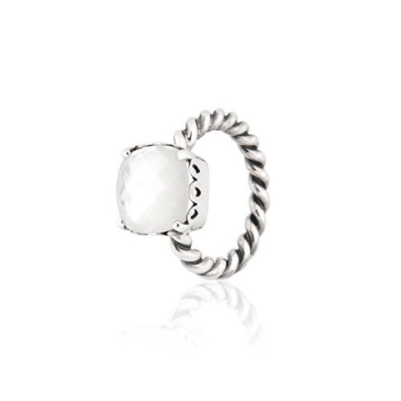 pandora mother of pearl ring