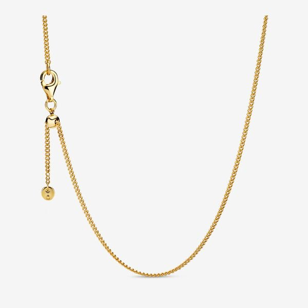 pandora necklaces gold