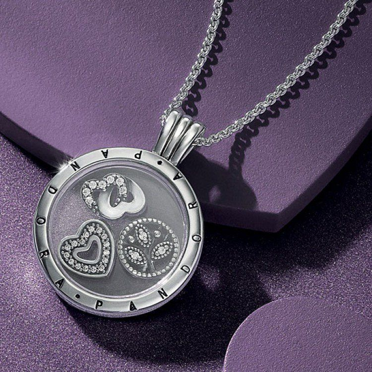 pandora necklaces locket