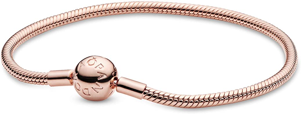 pandora rose gold braclet